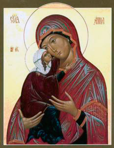 St. Anna with Holy Virgin