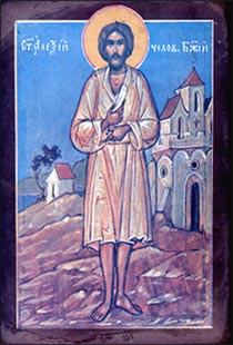 Saint Alexis, the man of God.