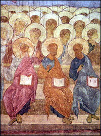 Apostles and angels