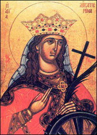 The Great-martyr Saint Catherine