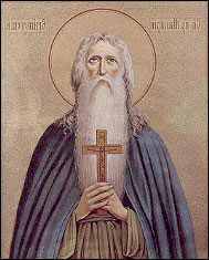 The venerable Saint Macarius of Egypt