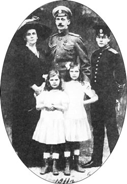 Prince Vladimir with his family