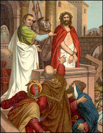 Christ with Pontius Pilate