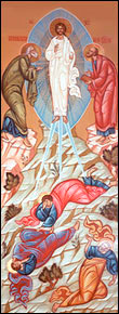 Our church icon of Transfiguration